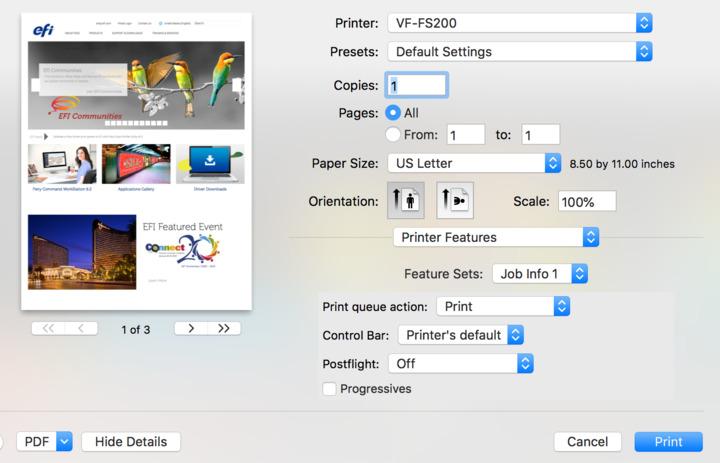 MAC OS 10 13 x and 10 14 x native applications Safari, Pages